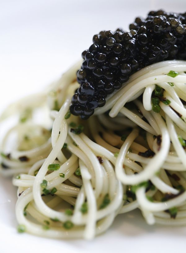 Cold Angel Hair Pasta, Oscietra Caviar2 edited & cropped