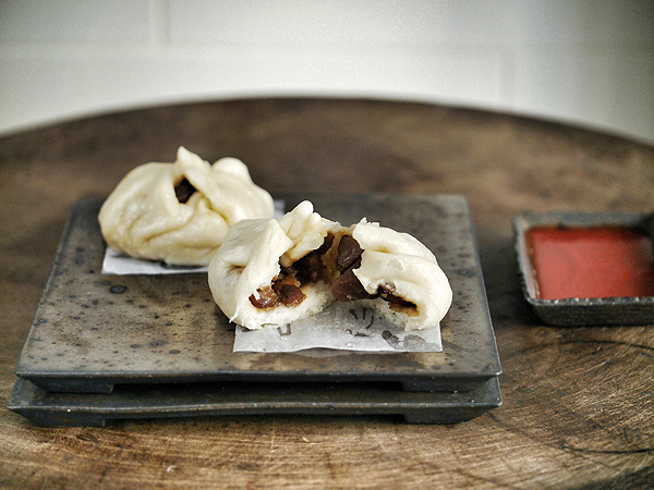 ... how to make Chinese barbecue pork bun (char siu bao) for my family