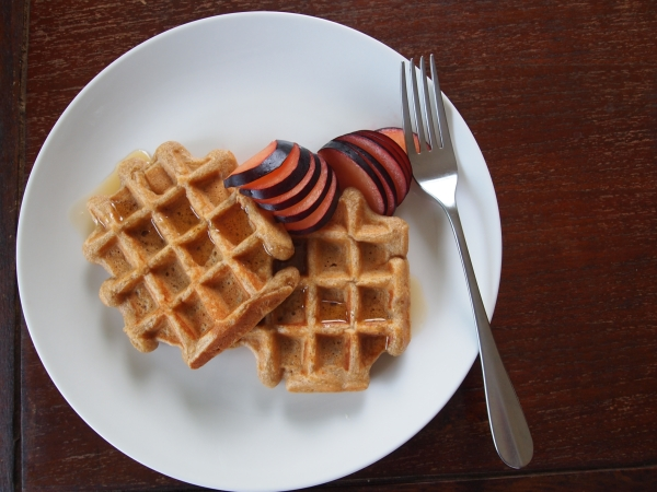 Chubby Hubby - Power Breakfasts: Basic Whole Wheat Waffles