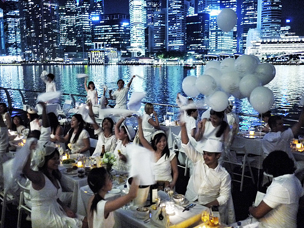 diner en blanc singapore