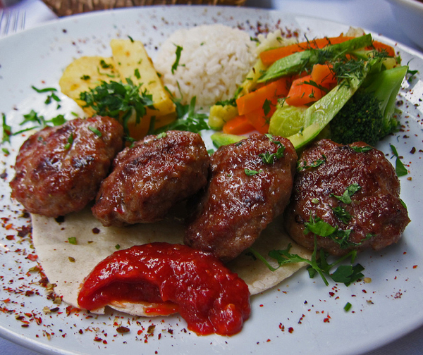 Turkish Kofte