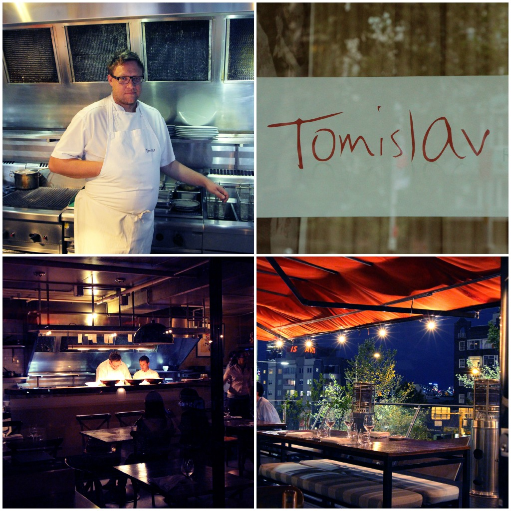 Tomislav, the chef and his restaurant