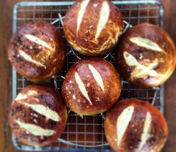 alton brown soft pretzel roll