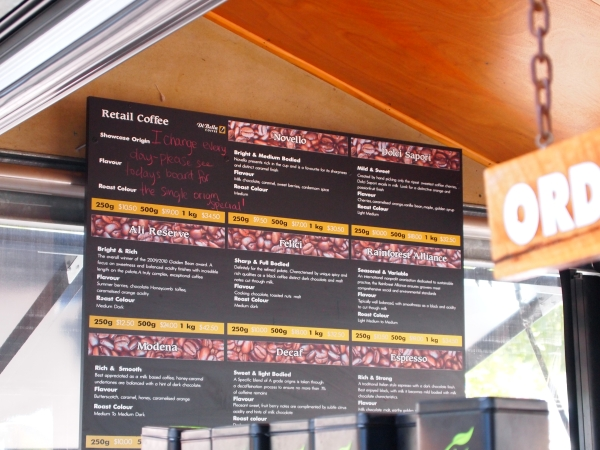 market espresso menu