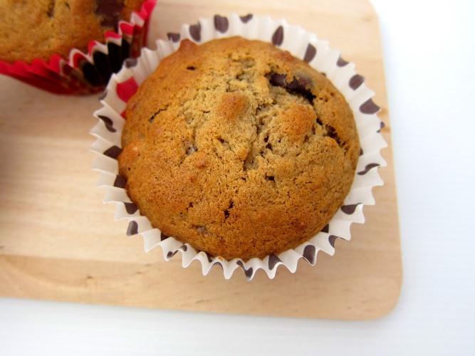 Banana nuts chocolate chips muffin_2