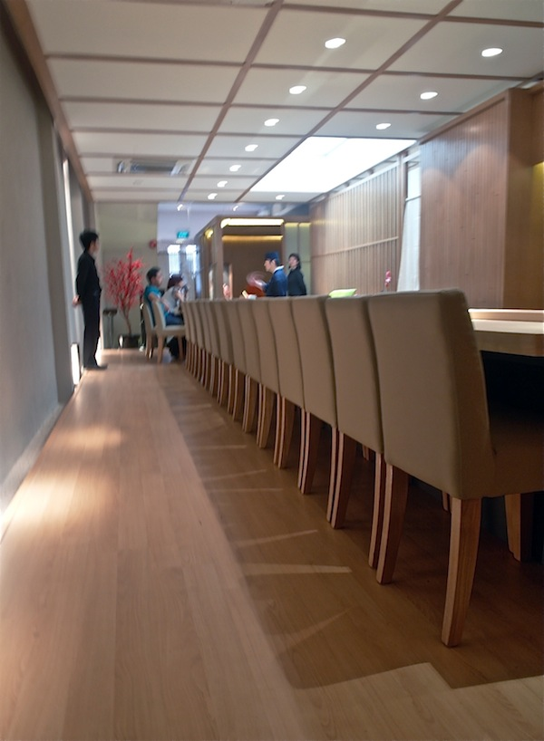 Sushi Mitsuya interior