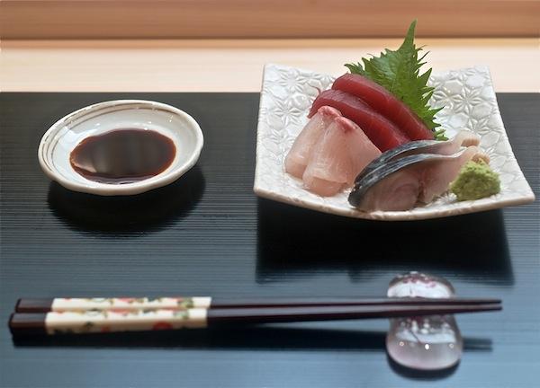 Sushi Mitsuya sashimi