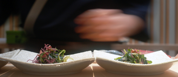 Sushi Mitsuya seaweed