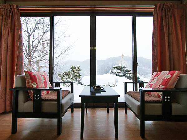 zuisenkaku offers gorgeous scenic views from its rooms