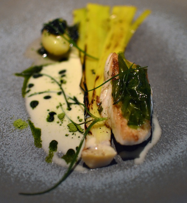 The Ledbury turbot leek