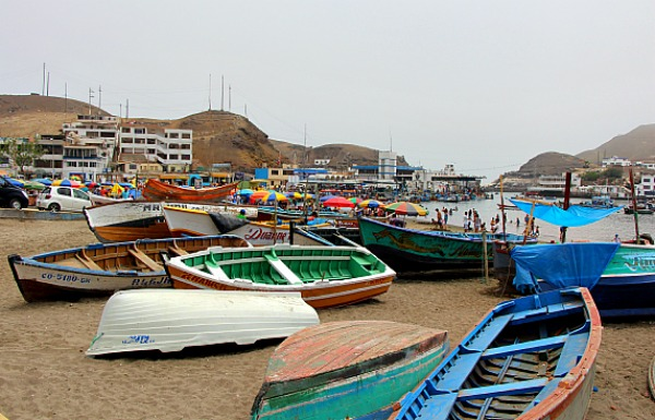 Boats in Pucusana