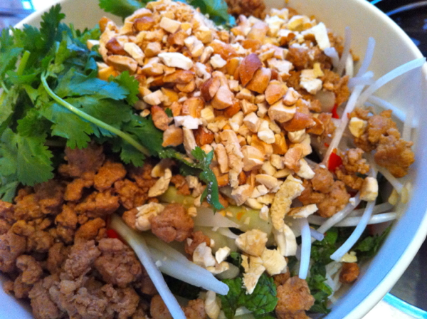 Chubby Hubby - Bun thit –cold Vietnamese vermicelli noodles