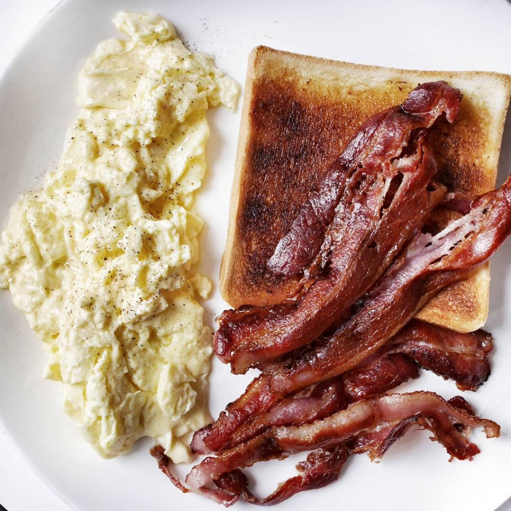 Starting the day right with billgranger style scrambled eggs perfectlyhellip
