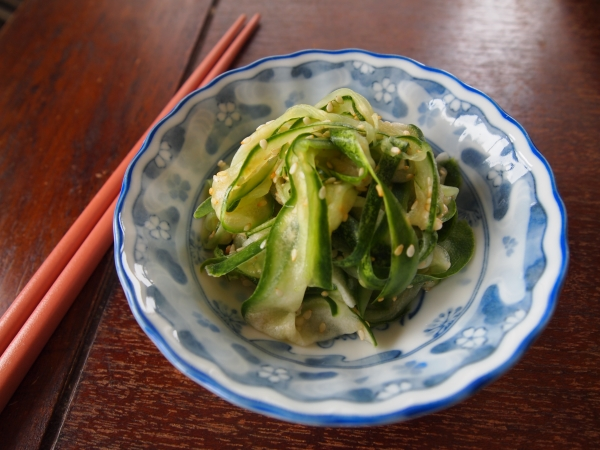 cucumber and sesame salad
