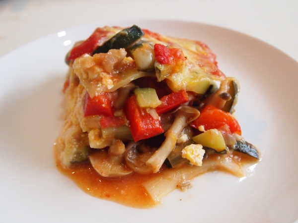 vegetable lasagne 2