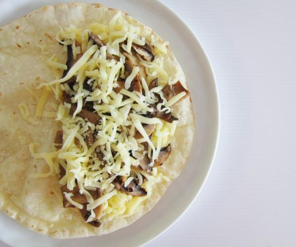 Mushroom quesadilla_2