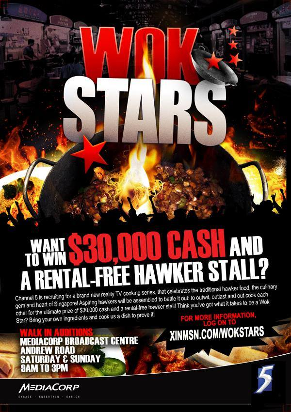 WOK STARS RECRUITMENT POSTER