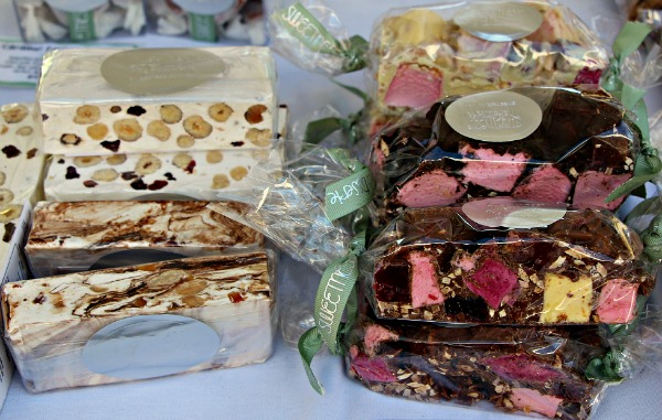 nougat and rocky road