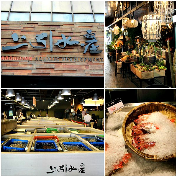 seafood market and concept store