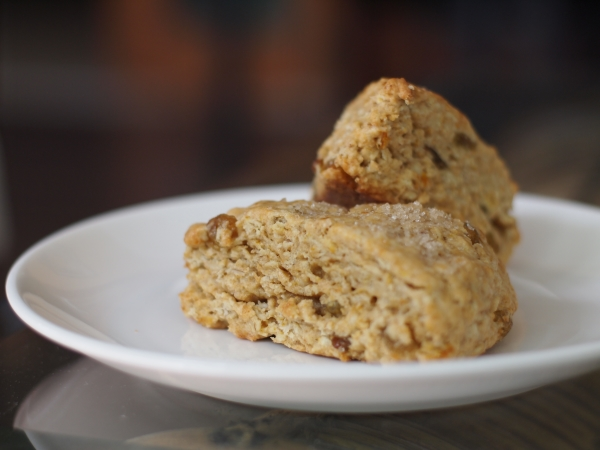 Chubby Hubby - Orange, sultana, oat and wholemeal scones