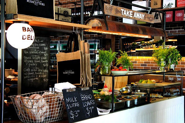 rushcutters deli section
