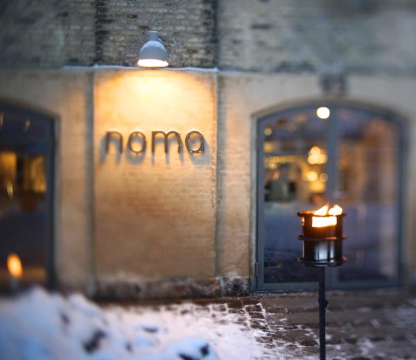 Noma's entrance