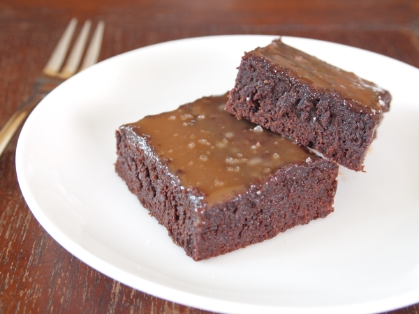 Chubby Hubby - Salted caramel, dark chocolate brownies