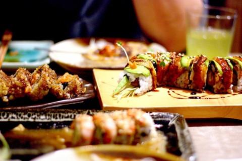 dragon roll isao sushi bangkok