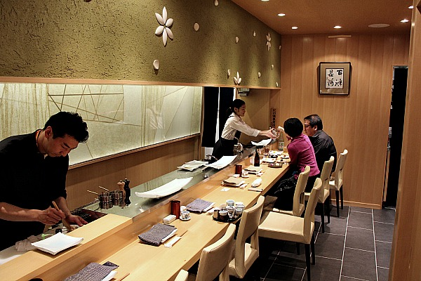 10-seat room at Yakitori Shinka