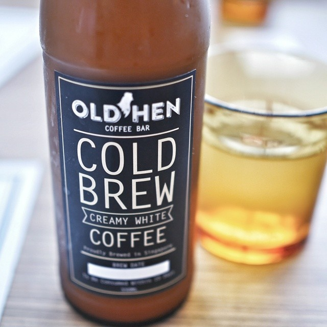 Love the packaging of the cold brew coffee at Old Hen Coffee Bar, a 2 week old cafe that's just opened on Rangoon Road. So happy to see more cool things in Farrer Park. #sgfood #foodie #sgeats #sgdrinks #cafesingapore #cafe #coffee #coldbrew #farrerpark #singapore #greatpackaging