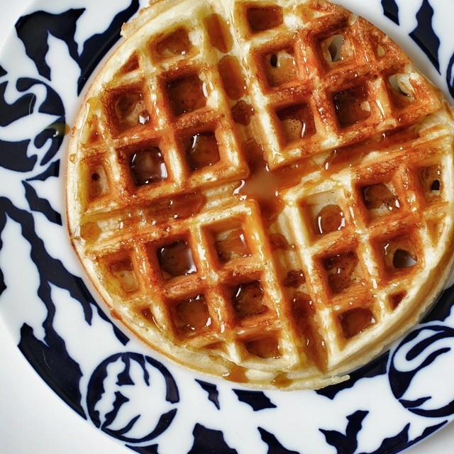 Maple syrup and salted caramel? Is that overkill? Love waffle day at home. #sgfood #foodie #foodporn #homecooking #breakfast #sgeats #foodphotography #waffle #maplesyrup #saltedcaramel