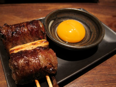 hachibei yakitori tokyo bacon