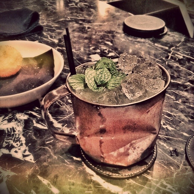 Been far too long since I've had a drink at 28 Hong Kong Street. This new cocktail, Hulk Smash, is awesome. Not only was the drink great, I love the smashed up copper mug. #28hongkongstreet #28hks #cocktail #singapore #singaporebars #craftcocktail #hulksmash #sgdrinks #funny #yummy #delicious