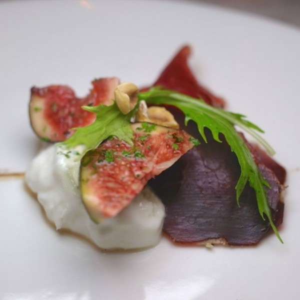 Burrata with Figs - BAM