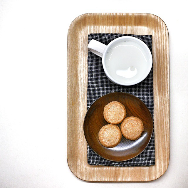 No better way to end a long day than some #milkandcookies. Even better if the cookies are #pierreherme #sables. #sgfood #foodie #foodporn #foodphotography #sgeats #foodgasm #yummy #favorite #f52grams #negativespace #cookies #goodnight #nightcap #onthetable #whati8today #instafood #foodstagram #igsg