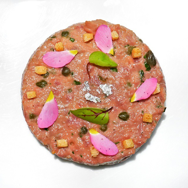 I love it when classic dishes are given a modern spin without sacrificing the authenticity or foundations of the recipe. Steak Tartar by @chef_sebastien from #lesamis. One of the dishes from the best set lunch in #singapore. If I could, I'd be lunching at Les Amis on a weekly basis. #foodie #foodporn #foodphotography #sgeats #singapore #restaurant #singaporerestaurants #50best #onthetable #theartofplating #truecooks #finedining #instafood #instafood #foodstagram #yummy #igsg #setlunch #chefsofinstagram #steaktartar