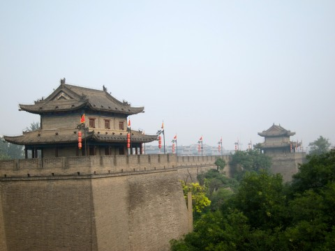 Ancient walls, Xi An, China