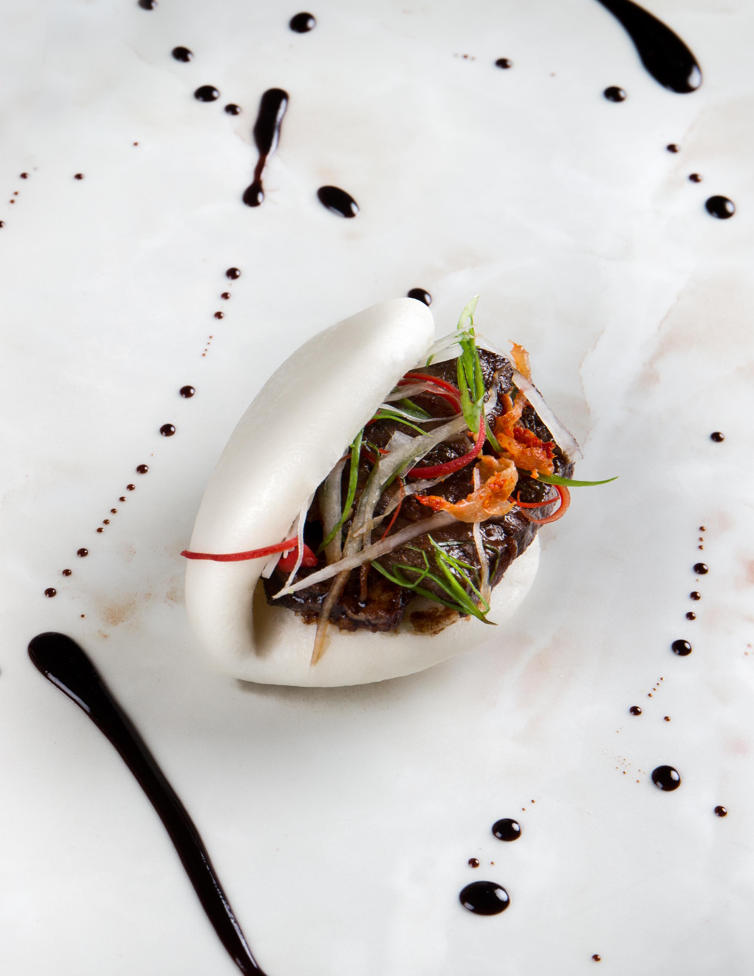 coriander leaf beef brisket