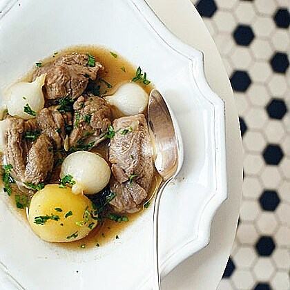 Wonderful Robuchon recipe for lamb stew Simply fabulous dish andhellip