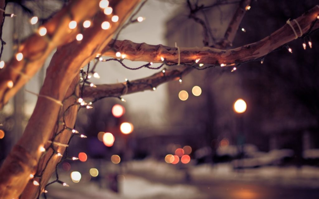 Cropped Free Download Christmas Lights Wallpaper Hdjpg